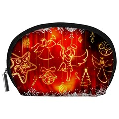 Christmas Widescreen Decoration Accessory Pouches (Large)