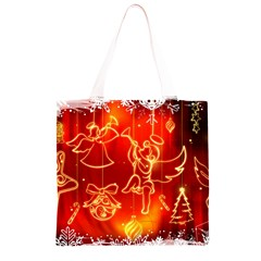 Christmas Widescreen Decoration Grocery Light Tote Bag
