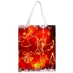 Christmas Widescreen Decoration Classic Light Tote Bag