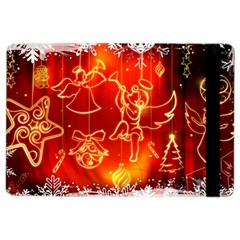 Christmas Widescreen Decoration iPad Air 2 Flip