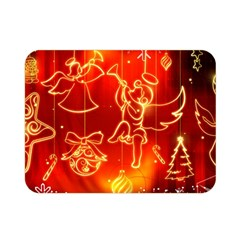 Christmas Widescreen Decoration Double Sided Flano Blanket (Mini)