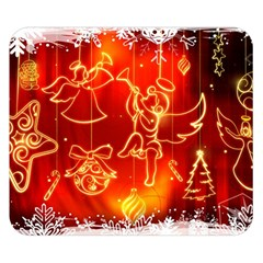 Christmas Widescreen Decoration Double Sided Flano Blanket (Small)