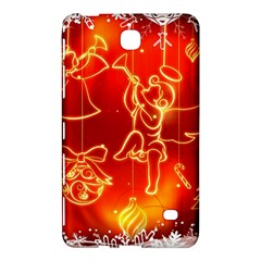 Christmas Widescreen Decoration Samsung Galaxy Tab 4 (7 ) Hardshell Case