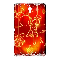 Christmas Widescreen Decoration Samsung Galaxy Tab S (8.4 ) Hardshell Case