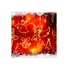Christmas Widescreen Decoration Satin Bandana Scarf