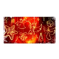 Christmas Widescreen Decoration Satin Wrap