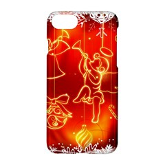 Christmas Widescreen Decoration Apple iPhone 7 Hardshell Case