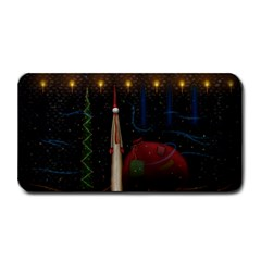 Christmas Xmas Bag Pattern Medium Bar Mats