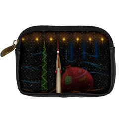 Christmas Xmas Bag Pattern Digital Camera Cases