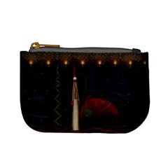 Christmas Xmas Bag Pattern Mini Coin Purses