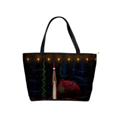 Christmas Xmas Bag Pattern Shoulder Handbags