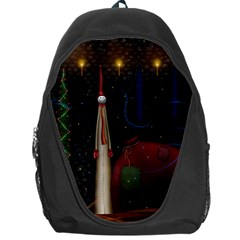 Christmas Xmas Bag Pattern Backpack Bag