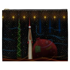 Christmas Xmas Bag Pattern Cosmetic Bag (XXXL)