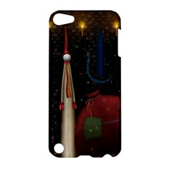 Christmas Xmas Bag Pattern Apple iPod Touch 5 Hardshell Case