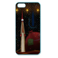 Christmas Xmas Bag Pattern Apple Seamless iPhone 5 Case (Color)