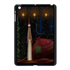 Christmas Xmas Bag Pattern Apple iPad Mini Case (Black)