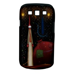 Christmas Xmas Bag Pattern Samsung Galaxy S III Classic Hardshell Case (PC+Silicone)