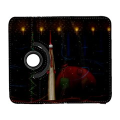 Christmas Xmas Bag Pattern Galaxy S3 (Flip/Folio)
