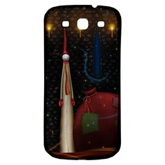 Christmas Xmas Bag Pattern Samsung Galaxy S3 S III Classic Hardshell Back Case