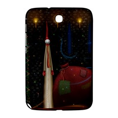 Christmas Xmas Bag Pattern Samsung Galaxy Note 8.0 N5100 Hardshell Case
