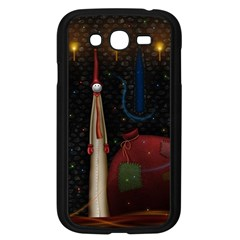 Christmas Xmas Bag Pattern Samsung Galaxy Grand DUOS I9082 Case (Black)