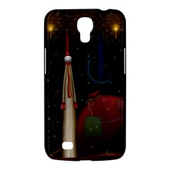 Christmas Xmas Bag Pattern Samsung Galaxy Mega 6.3  I9200 Hardshell Case