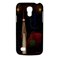 Christmas Xmas Bag Pattern Galaxy S4 Mini
