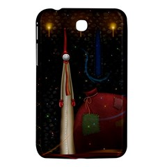 Christmas Xmas Bag Pattern Samsung Galaxy Tab 3 (7 ) P3200 Hardshell Case