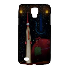 Christmas Xmas Bag Pattern Galaxy S4 Active