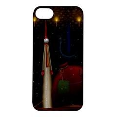 Christmas Xmas Bag Pattern Apple iPhone 5S/ SE Hardshell Case