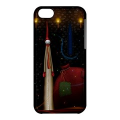 Christmas Xmas Bag Pattern Apple iPhone 5C Hardshell Case