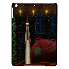 Christmas Xmas Bag Pattern iPad Air Hardshell Cases