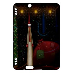 Christmas Xmas Bag Pattern Kindle Fire HDX Hardshell Case