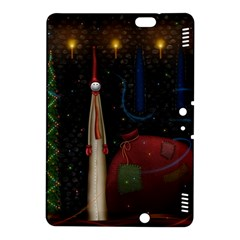 Christmas Xmas Bag Pattern Kindle Fire HDX 8.9  Hardshell Case