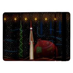 Christmas Xmas Bag Pattern Samsung Galaxy Tab Pro 12.2  Flip Case