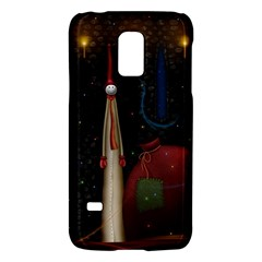 Christmas Xmas Bag Pattern Galaxy S5 Mini