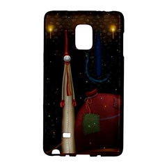 Christmas Xmas Bag Pattern Galaxy Note Edge