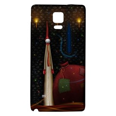 Christmas Xmas Bag Pattern Galaxy Note 4 Back Case