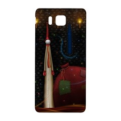 Christmas Xmas Bag Pattern Samsung Galaxy Alpha Hardshell Back Case