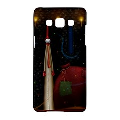 Christmas Xmas Bag Pattern Samsung Galaxy A5 Hardshell Case