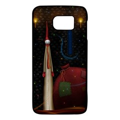 Christmas Xmas Bag Pattern Galaxy S6
