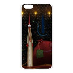 Christmas Xmas Bag Pattern Apple Seamless iPhone 6 Plus/6S Plus Case (Transparent)