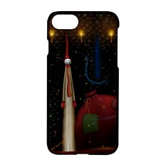 Christmas Xmas Bag Pattern Apple iPhone 7 Hardshell Case