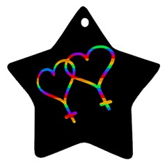 Love is love Ornament (Star)