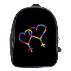 Love is love School Bags(Large)