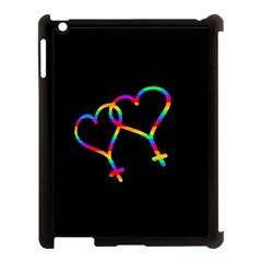 Love is love Apple iPad 3/4 Case (Black)