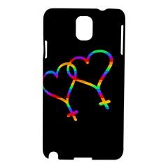Love is love Samsung Galaxy Note 3 N9005 Hardshell Case