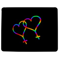 Love is love Jigsaw Puzzle Photo Stand (Rectangular)