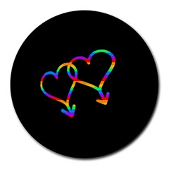 Love is love Round Mousepads