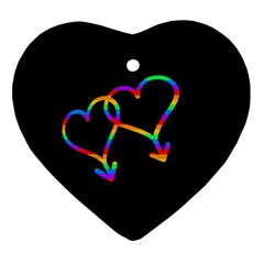 Love is love Ornament (Heart)